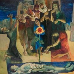 نمایشگاه نقاشیهای دیده نشده دهه ۵۰ | عکس