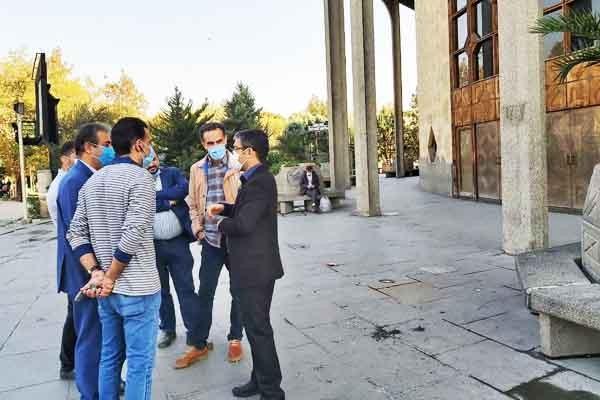 طراحی یک پروژه فرهنگی - گردشگری در تئاتر شهر کلید خورد | عکس