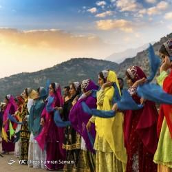 جشنواره رنگها در عروسی بختیاری | عکس