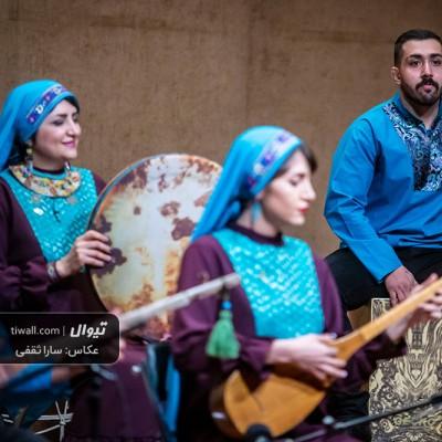 گزارش تصویری تیوال از کنسرت ژوران / عکاس: سارا ثقفی | کنسرت گروه ژوران - آسیه احمدی