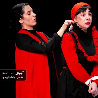 گزارش تصویری تیوال از نمایش لرز / عکاس: رضا جاویدی | عکس