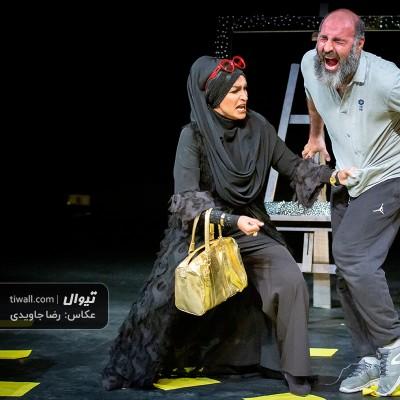 گزارش تصویری تیوال از نمایش پونز / عکاس: رضا جاویدی | عکس