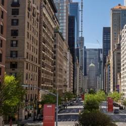 خیابانهای خالی نیویورک | عکس