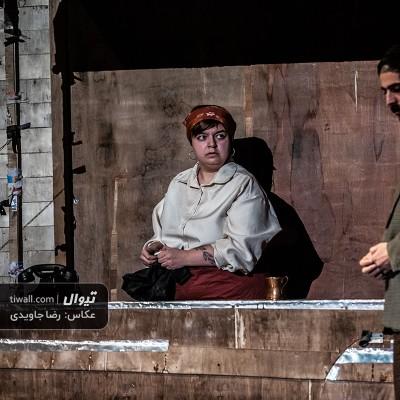 گزارش تصویری تیوال از نمایش رفتم سیگار بخرم / عکاس: رضا جاویدی | عکس
