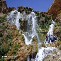 تفریح تابستانی در آبشار شیخ علیخان | عکس