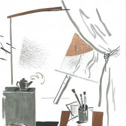 نمایشگاه طراحیهای پرویز حیدرزاده | عکس