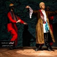 گزارش تصویری تیوال از نمایش مضحکهی جنگنامهی غلامان تقلید در یک مجلس / عکاس: سید ضیا الدین صفویان | عکس