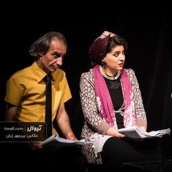 گزارش تصویری تیوال از نمایشنامهخوانی عروسی خرده بورژوآها / عکاس: پریچهر ژیان | عکس