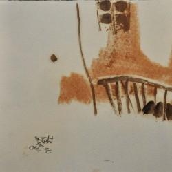 نمایشگاه خط، لکه و فراموشی | عکس