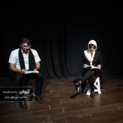 گزارش تصویری تیوال از نمایشنامهخوانی مرثیه ای برای یک سبک وزن / عکاس: پریچهر ژیان | عکس