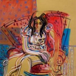 نمایشگاه نقاشی مهدی احمدی | عکس