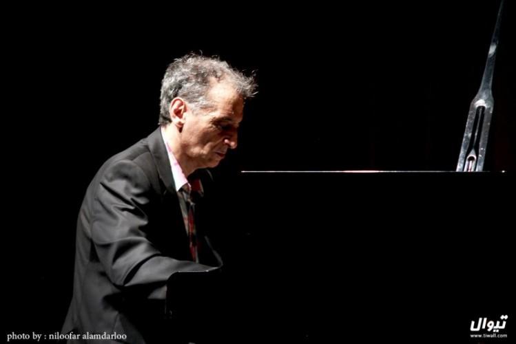 عکس کنسرت رسیتال پیانو فریدون ناصحی