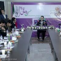 گزارش تصویری تیوال از نشست خبری رئیس ستاد هنرمندان دکتر روحانی / عکاس: حانیه زاهد | عکس