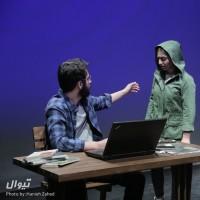 گزارش تصویری تیوال از نمایش توارد / عکاس: حانیه زاهد | عکس