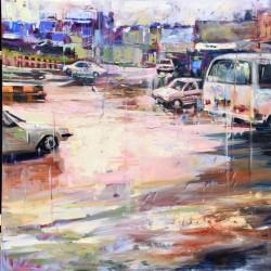 نمایشگاه شهری که در آن زمان از حرکت ایستاد | عکس