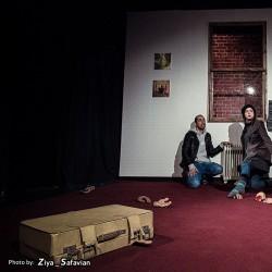 نمایش مراسم قطع دست در اسپوکن | عکس