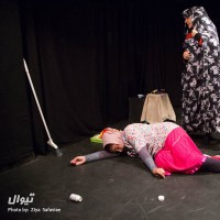 نمایش بغض زنان   عکس