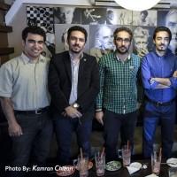 عکسهایی از جشن سازمانی دومین زادروز تیوال / عکاس: کامران چیذری | بخشی از تیم فنی تیوال