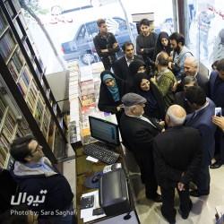 گزارش تصویری تیوال از بازدید اعضای شورای شهر از راسته فرهنگی خیابان انقلاب (سری دوم) / عکاس: سارا ثقفی | عکس