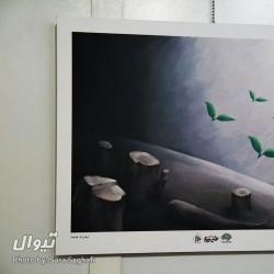 گزارش تصویری تیوال از نمایشگاه کاریکاتور نهمین جشنواره طنز سوره / عکاس: سارا ثقفی | عکس