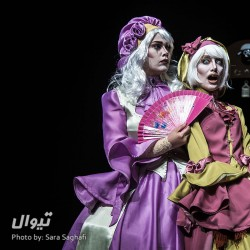 نمایش سرزمین تهیسران | عکس