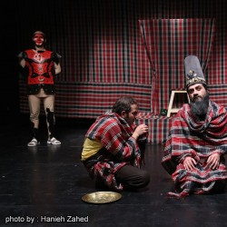 نمایش حکایت فین به روایت جن جین | عکس
