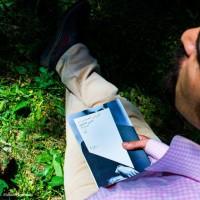 گردش یک سفر یک کتاب |دشت لزور با حسن همایون| | عکس